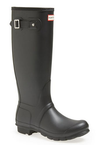 Hunter 'Original Tall' Rain Boot (Women) black