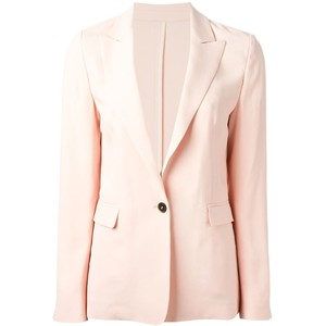 MSGM single button blazer pink blush