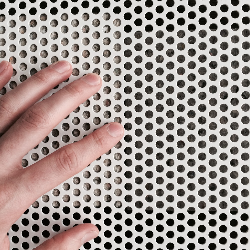 Perforated Metal Mesh and Acoustic Insulation