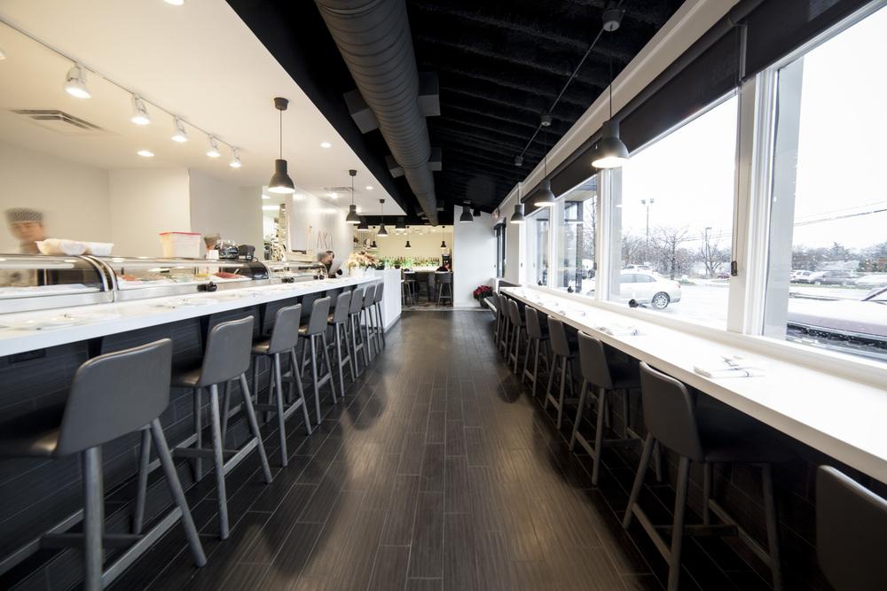 Modern Sushi Bar - Synecdoche Design