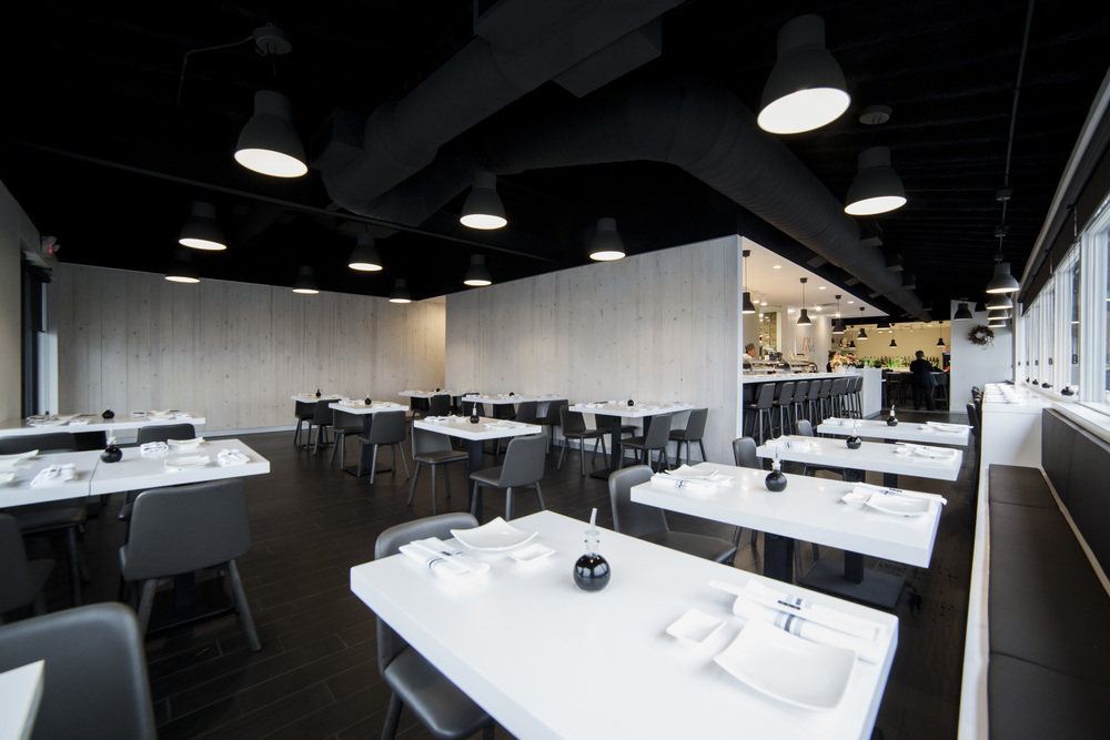 AKA Sushi Restaurant Interior - by Synecdoche Design
