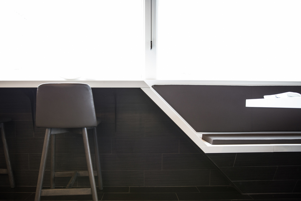 modern restaurant design detail