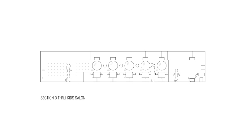 salon design drawing