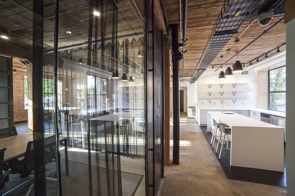 modern tech office space