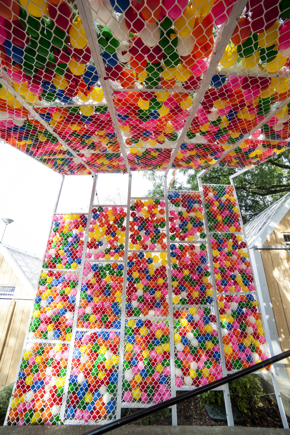 Water Ballon Pavilion Art Installation Synecdoche Design