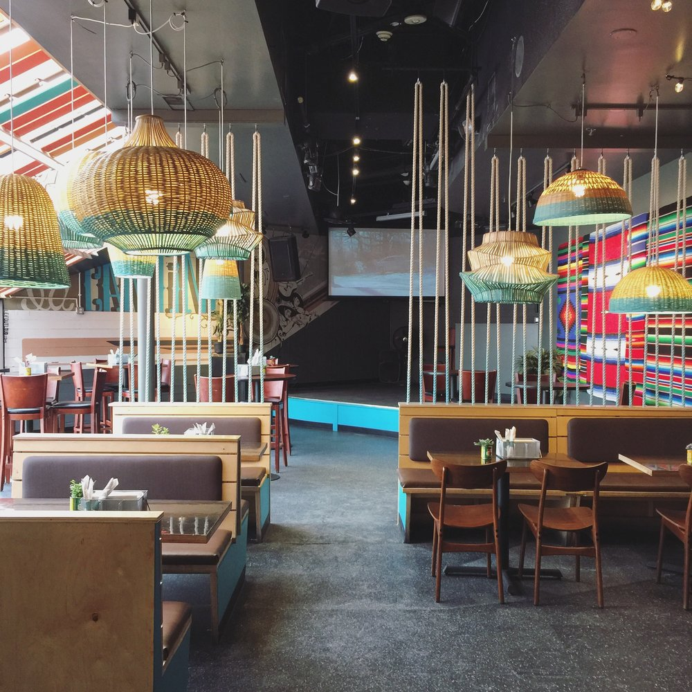 Cantina Ann Arbor Restaurant Rope Wall