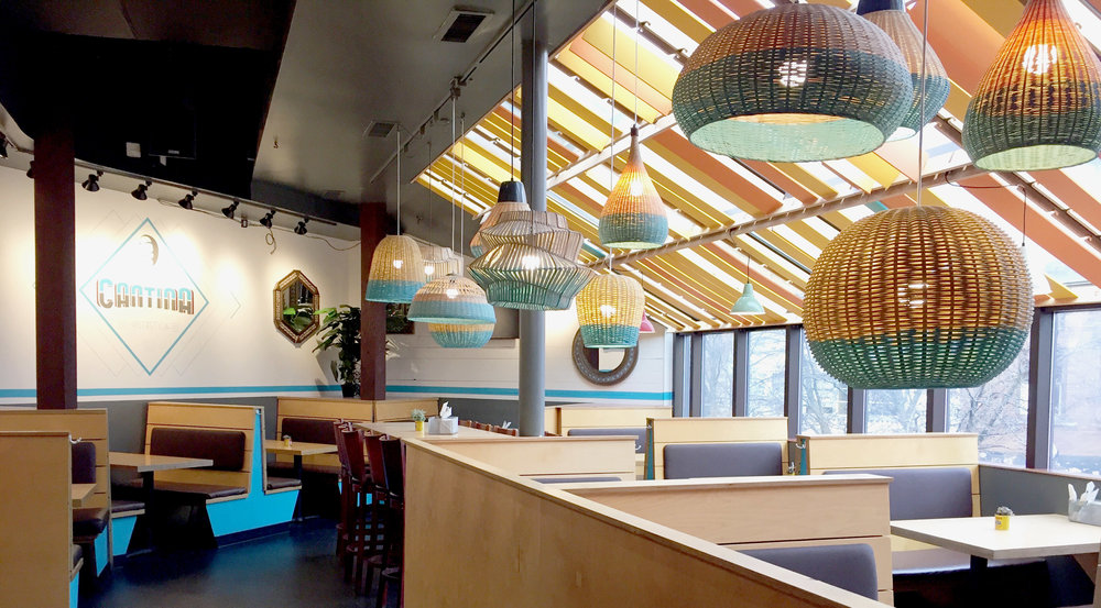 Cantina Ann Arbor Restaurant Dipped Lights