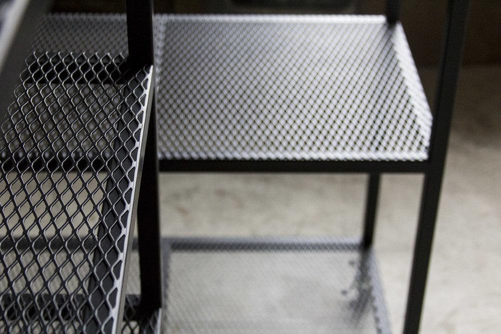 mesh shelves synecdoche rh synecdochedesign com ikea metal mesh shelves Vintage Mesh Metal Table