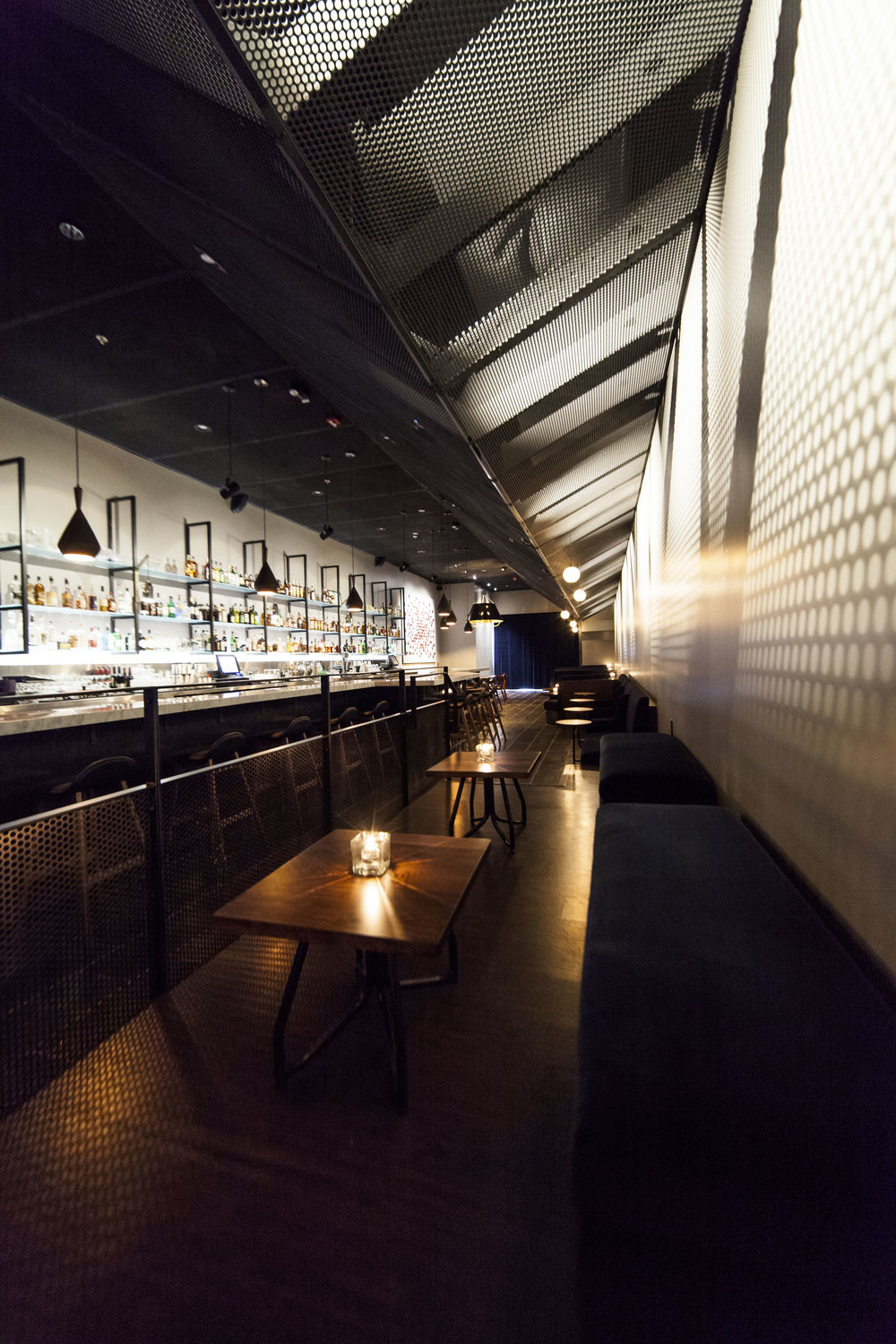 Nightcap Ann Arbor bar interior design by Synecdoche Design Studio