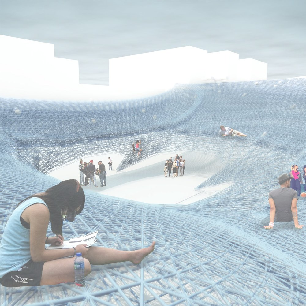 """Flint Public Art Project : Flat Lot Competition - """"The Big Top"""" - semi-finalist"""