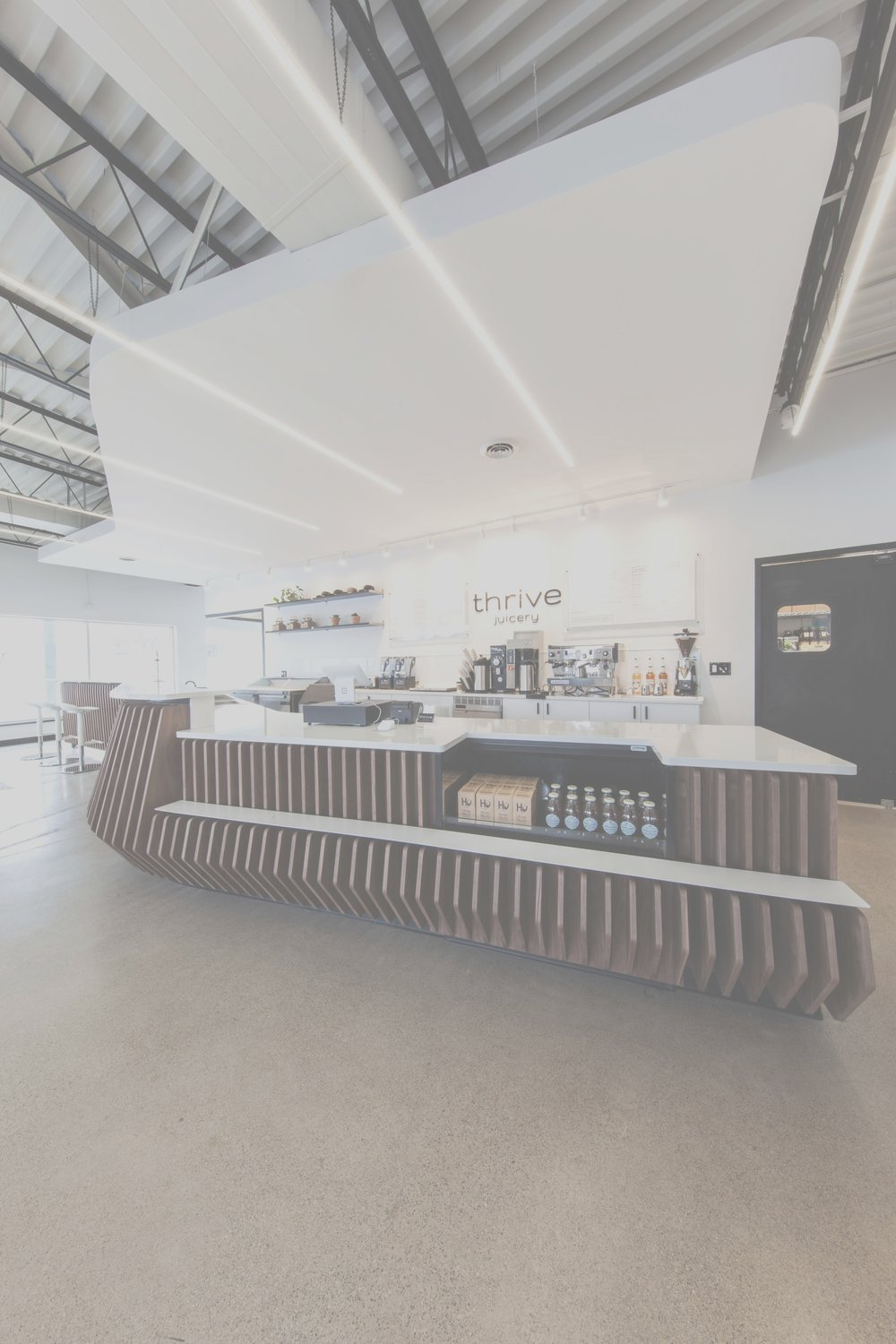 World Architecture and Design Awards : Commercial Interiors Category - Thrive Juicery : Winner