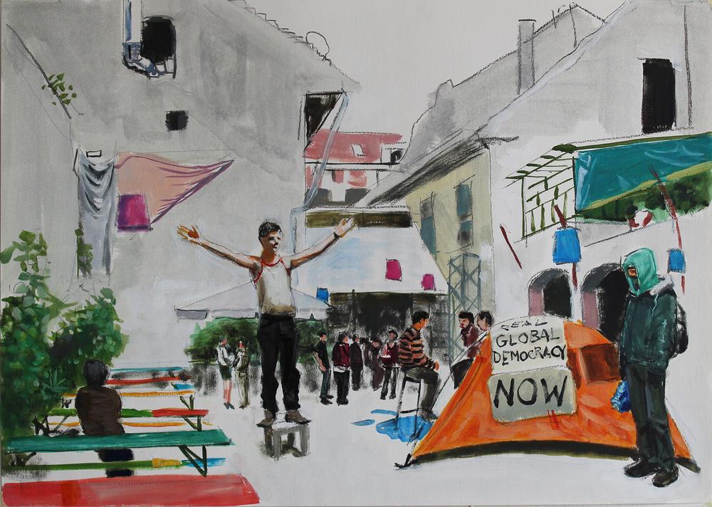 Csaba Nemes. Utopia Ruin Pub (08). 2013