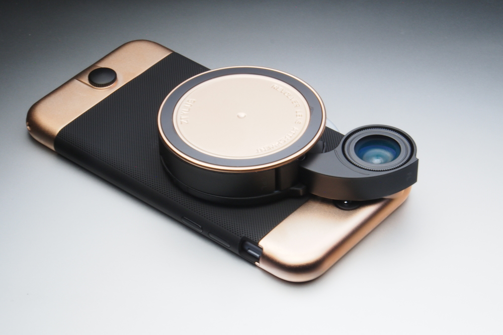 Limited Edition ZTYLUS Rose Gold Case & Lens Kit for iPhone 6