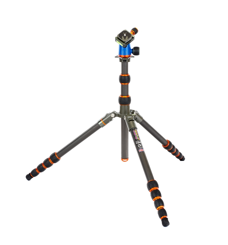 Always Look On The Bright Side of Life... - Brian is a true travel tripod. Designed to be both compact and lightweight, but stable enough for full-size cameras and long lenses, Brian is versatile, durable, and strong – offering photographers a world of possibilities.