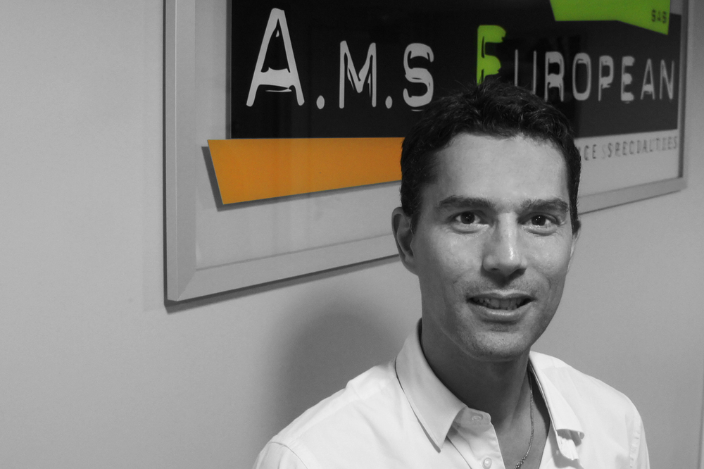 Gabriel Simonnet / CommercialManager  gabriel@ams-european.com