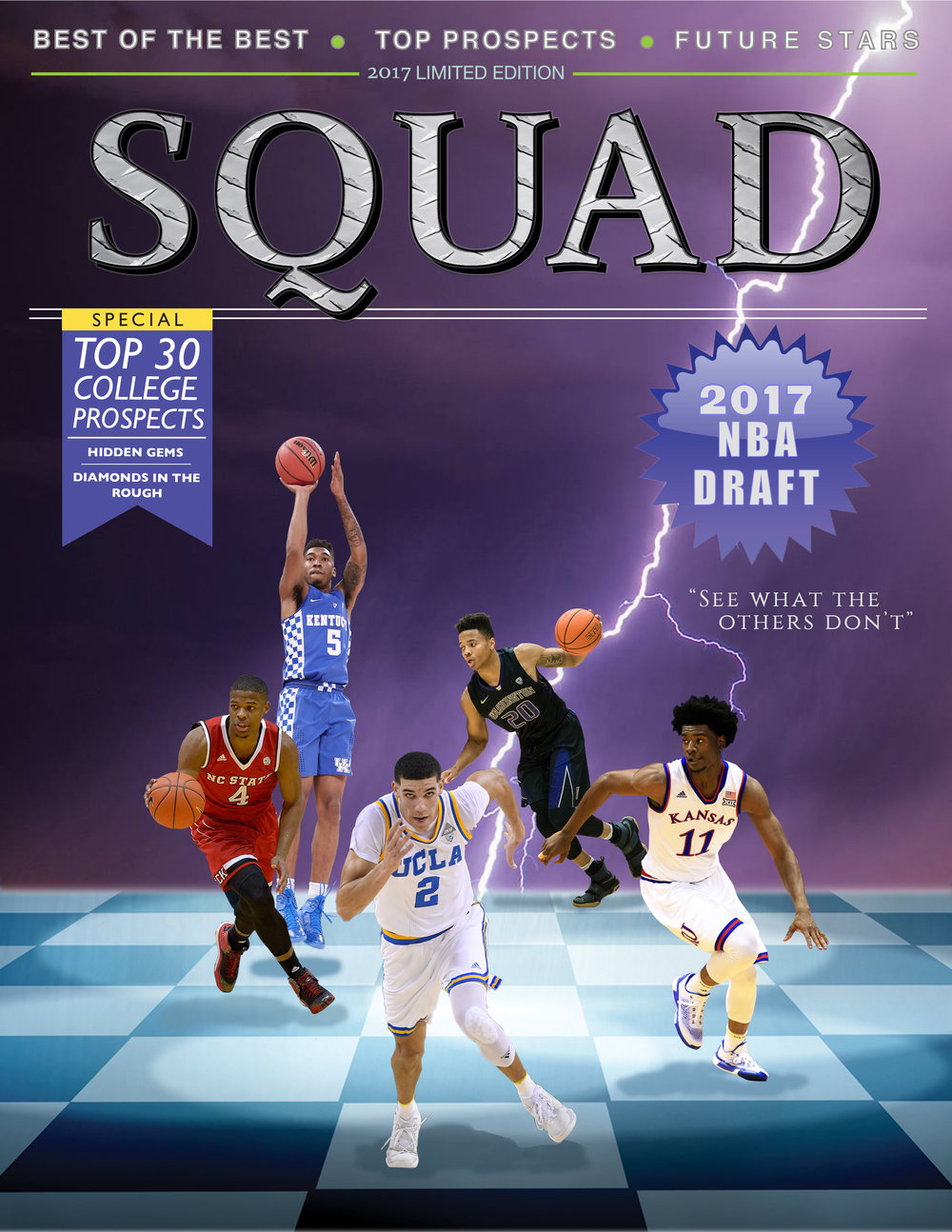 NBA scouting report cover