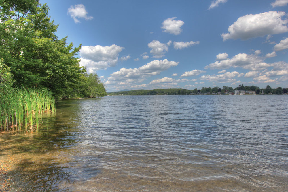 Summer View of Onota Lake