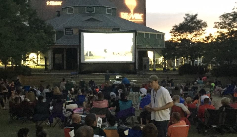 Enjoy outdoor movies and meeting new people? -