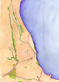 Chicago River Watershed Today. What's a Watershed? Courtesy of Friends of the Chicago River