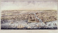 Chicago Harbor, 1854 Courtesy of Chicago History Museum