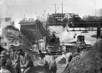 The North Shore Channel in Progress, ca. 1909 Courtesy of Chicago History Museum