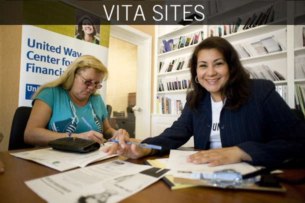 Free tax prep at VITA site locations across Rutherford County for qualifying individuals earning less than $64,000 in 2016.