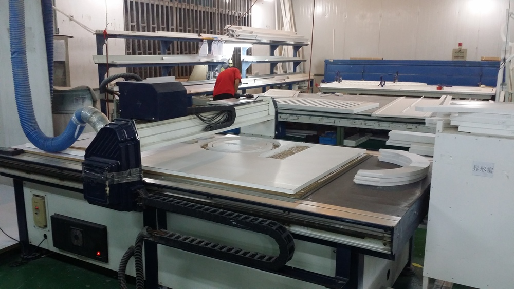 Specialty Shape Shutter Production