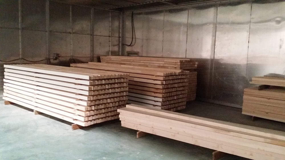 Wood Conditioning Room