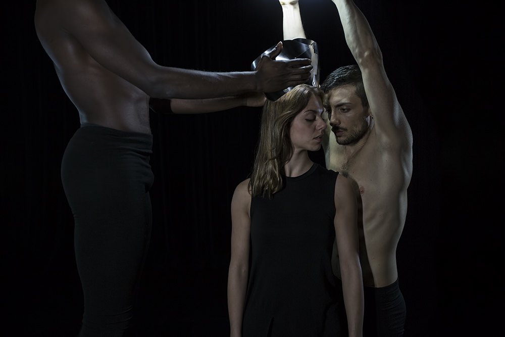 This past weekend I did a videoshoot with three dancers. The footage will be used by Italian designer Corradino Garofalo to present his design on the Ventura Lambrate Fair in Milano, Italy in two weeks' time. The Ventura Lambrate Fair is part of the Milan Design Week 2015. In between the video-takes I also did some photography. This is one of the photographs I took of a dance-sequence in which the design-object is presented. It might be included in the final video which will have its' premiere on the Venura Lambrate Fair. Once the video is available for publication, which will be after the Fair, I will add it to my blog. Designer: Corradino Garofalo Dancers: Davide Guarino, Paolo Yao Kouadio, Paola Ghidini Photography/Light: Jos Kuklewski