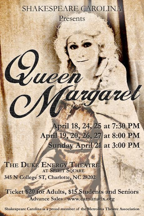 Promotional Poster: Queen Margaret