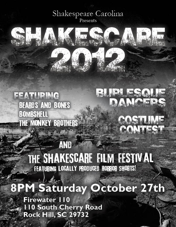 Promotional Poster: Shakescare 2012