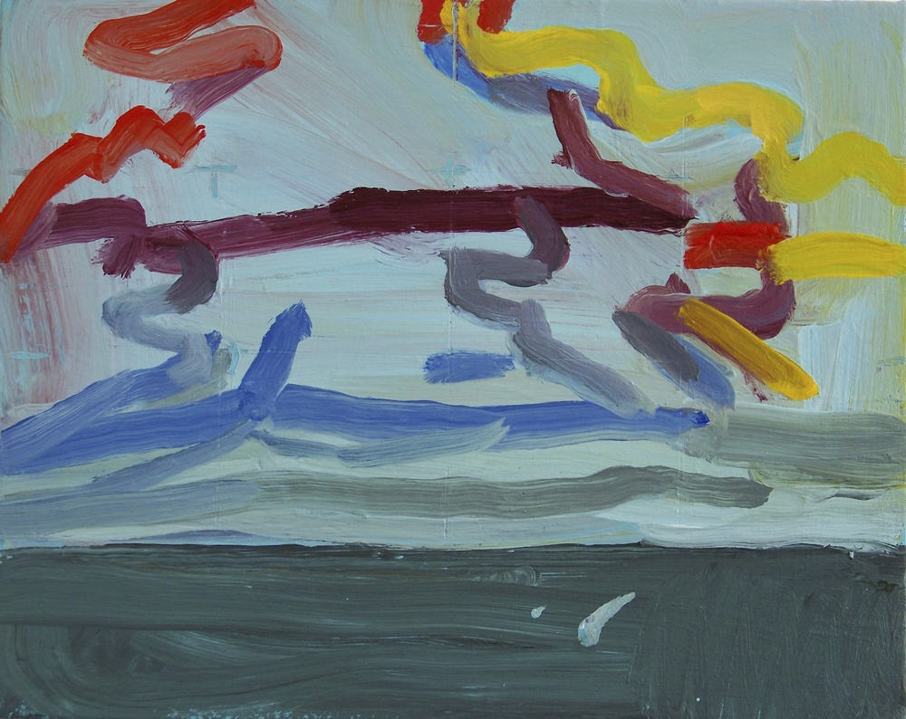 Clouds over the Sea, 2013