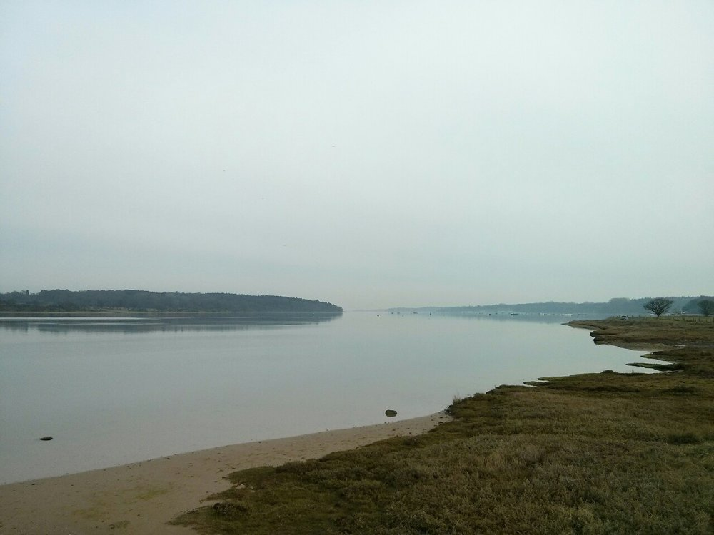 Took a few minutes by the River Orwell en route to a meeting in Ipswich.