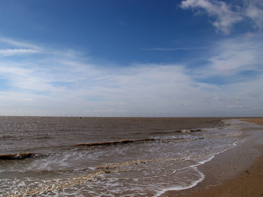 10th April 2012. On the beach this morning.