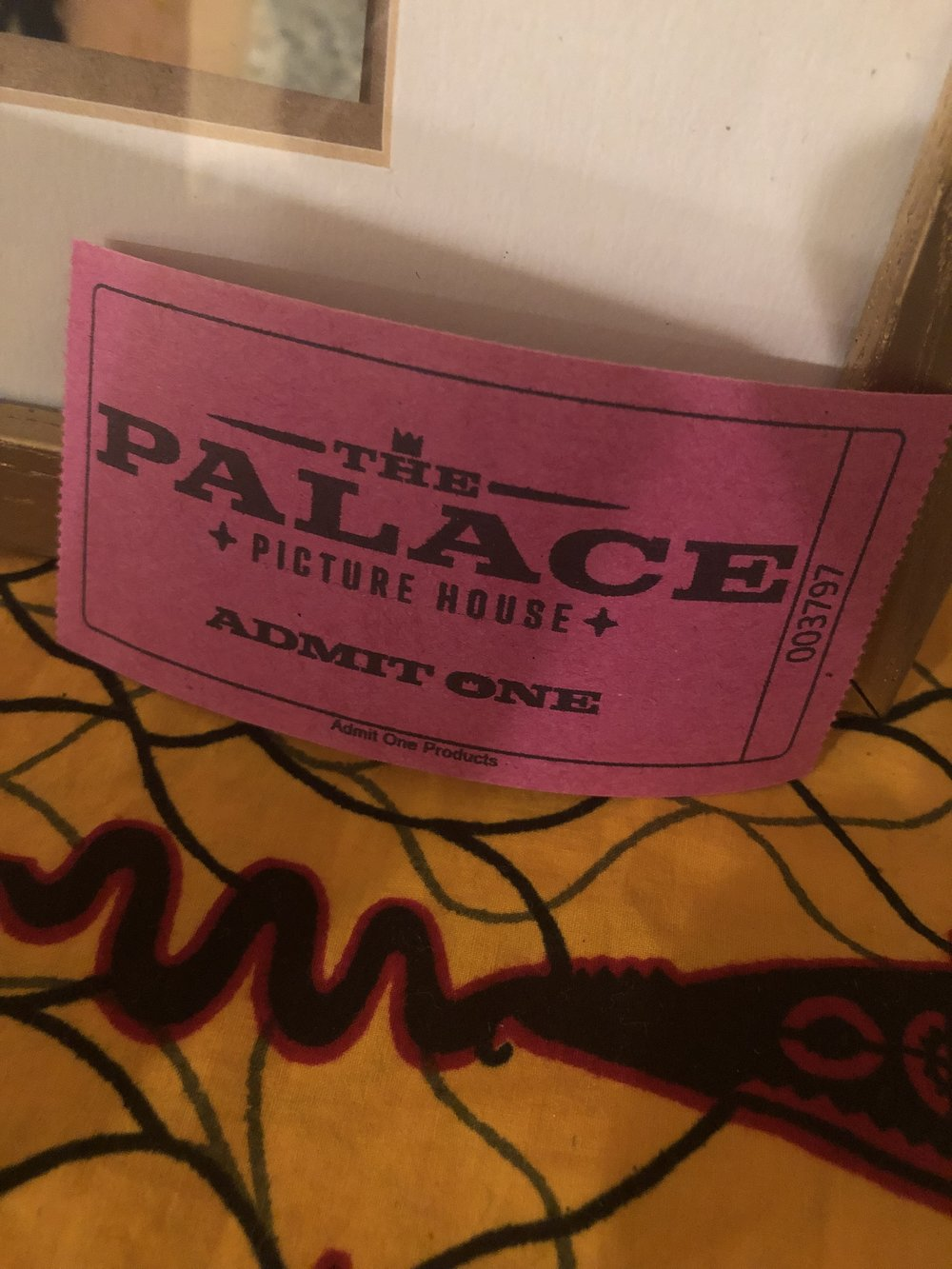 "Rose at the Palace Theater,  Thank you for offering the community a time to grieve together and find some semblence of ""closure,"" through the free screening of the film at your theater."