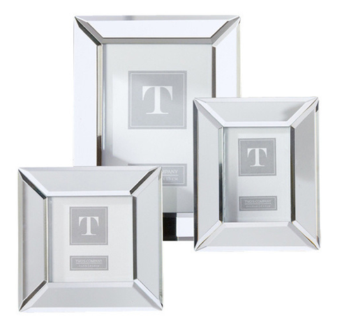 beveled mirror frame 4x6 - Mirrored Frame