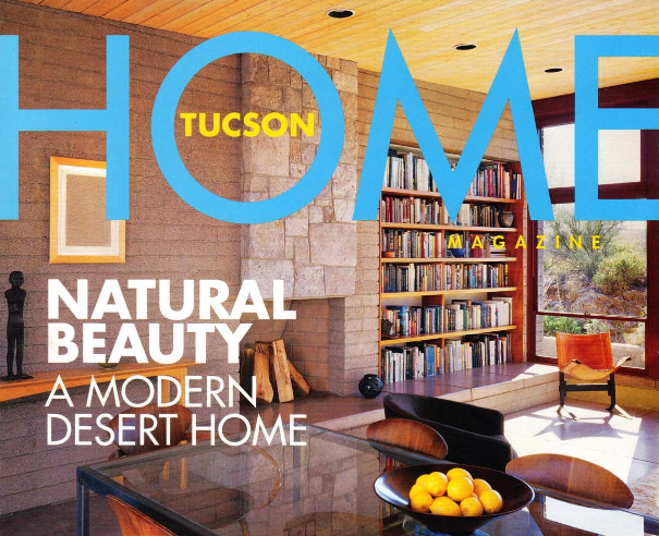 Featured in Tucson Home Magazine.