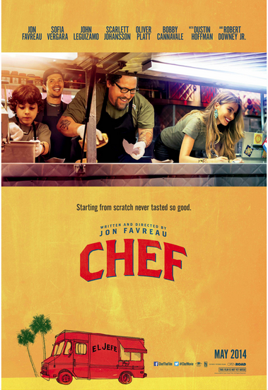 Promotional poster for Chef
