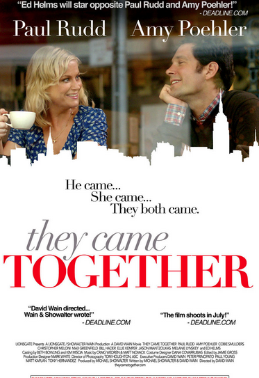 Promotional poster for They Came Together