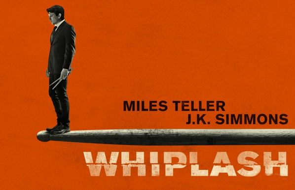 Promotional poster for Whiplash