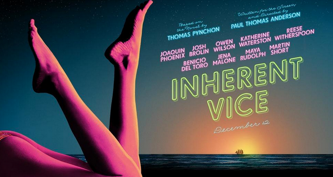 Promotional poster for Inherent Vice