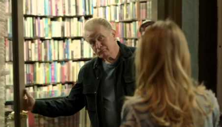 Glenn Warburg (Martin Sheen) as one of the many men in Katie's life