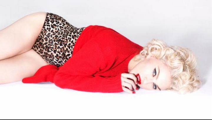 Channeling the Truth or Dare era in this promo photo for the album