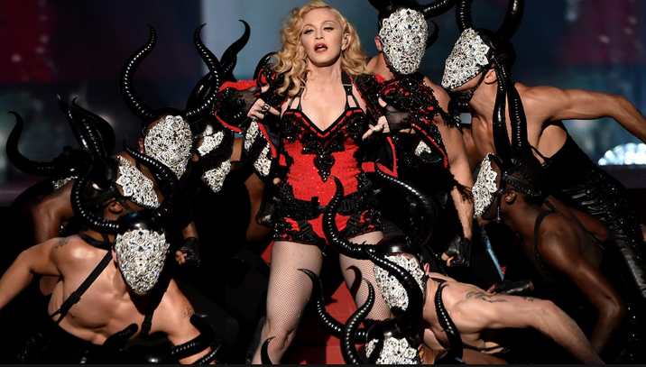 Performing at the 2015 Grammys