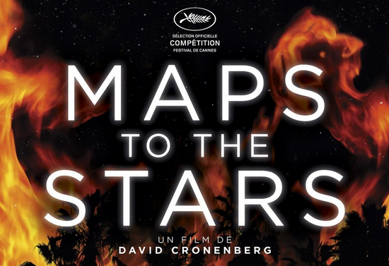 French promo poster for Maps to the Stars
