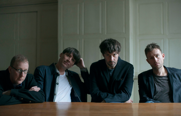 The boys of Blur