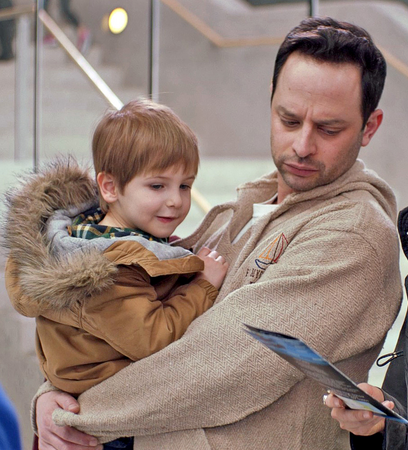 Handling a child