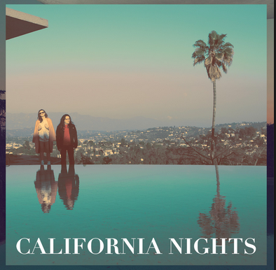 Sun-soaked California Nights album cover