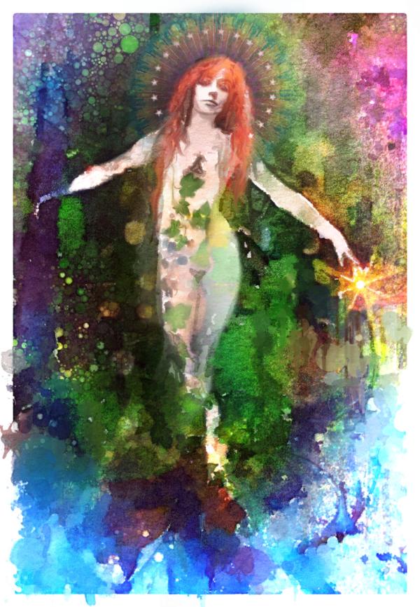 """ Persephone Rising"" , Lisbeth Cheever-Gessaman, 2015"