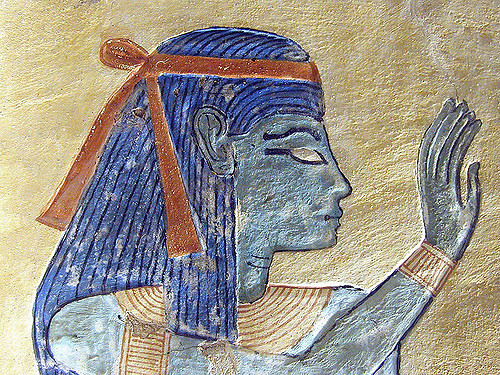 Neith, detail